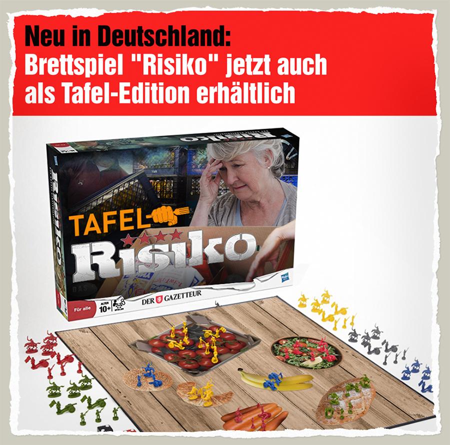 Tafel-Risiko - Der Gazetteur