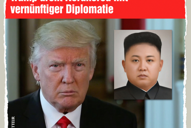 Drohende Diplomatie - Der Gazetteur