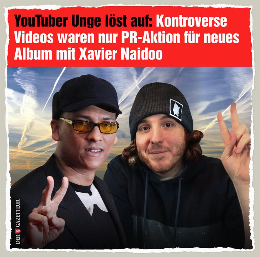 Unge feat. Xavier - Der Gazetteur