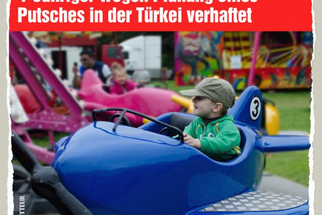 Vierjährige Terroristen - Der Gazetteur