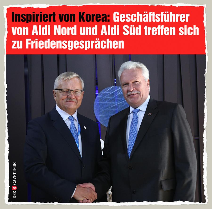 Aldi-Gespraeche - Der Gazetteur