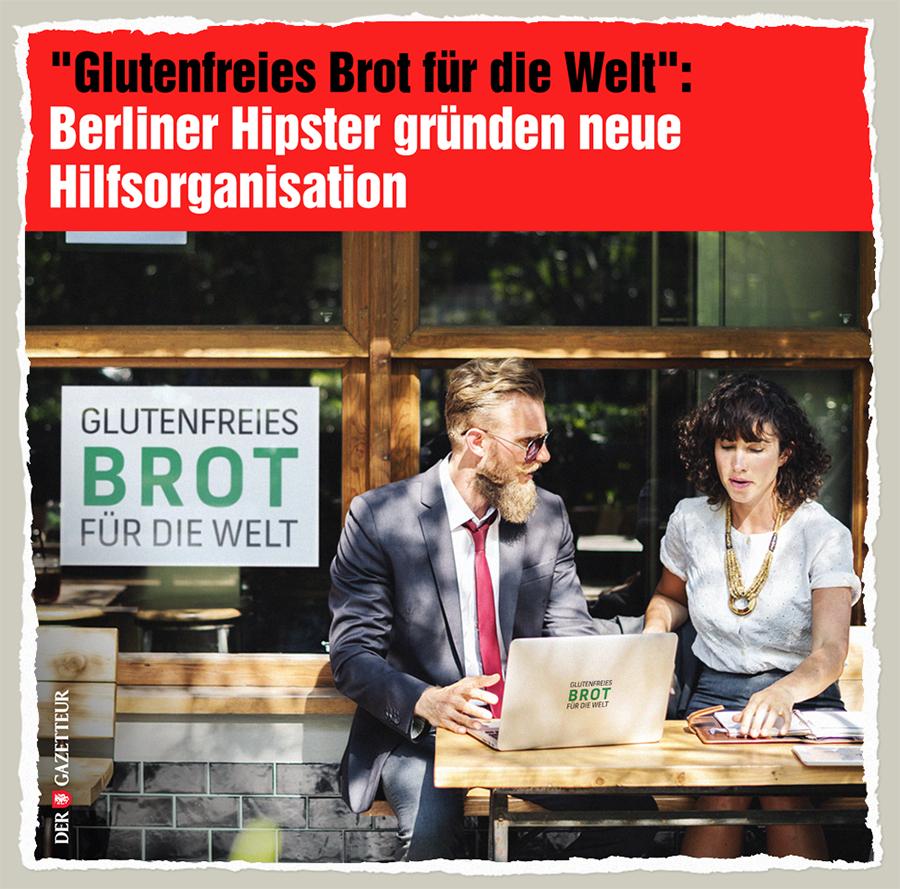 Weltweites Glutenleiden - Der Gazetteur