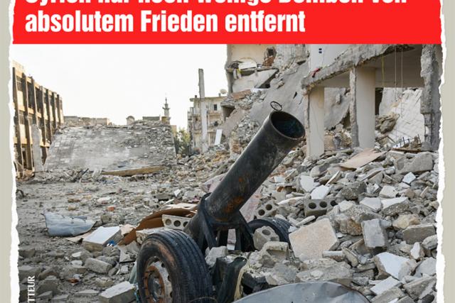 Gute Nachricht aus Syrien - Der Gazetteur