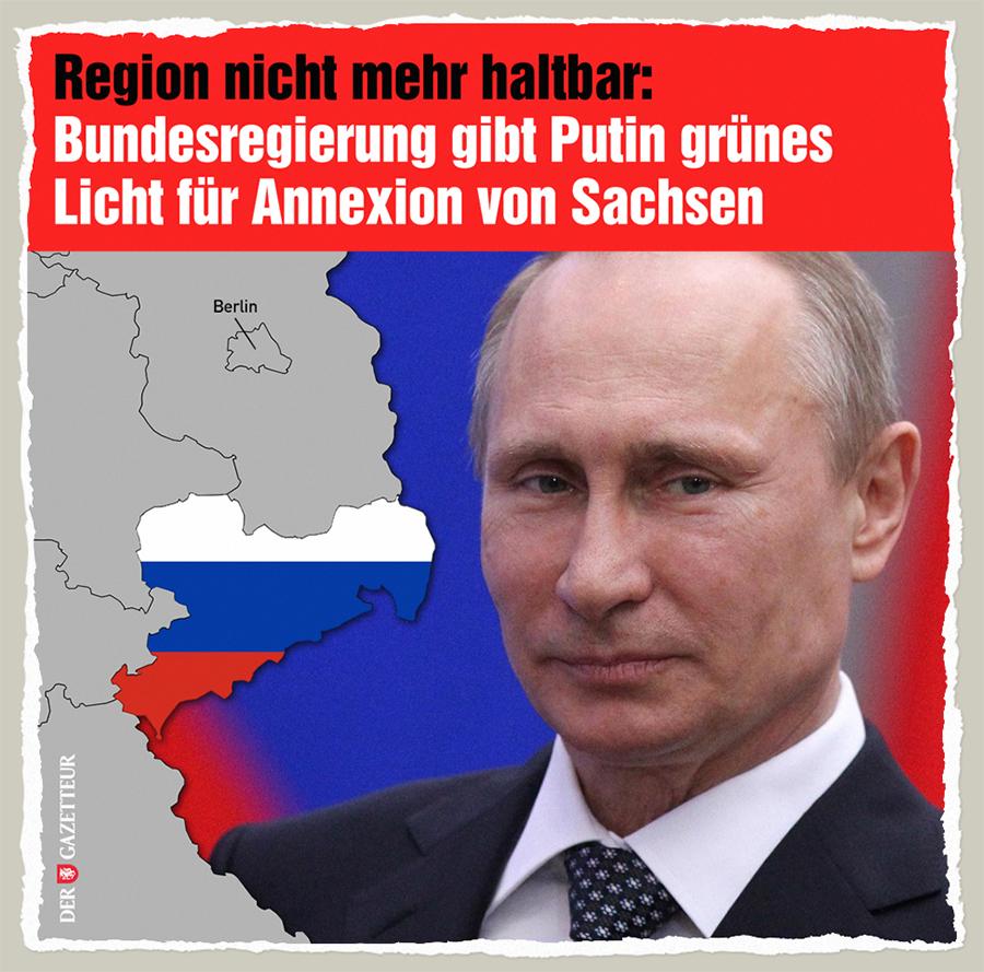Sachsen unhaltbar - Der Gazetteur