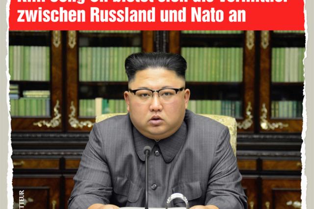 Friedensvermittler Kim - Der Gazetteur