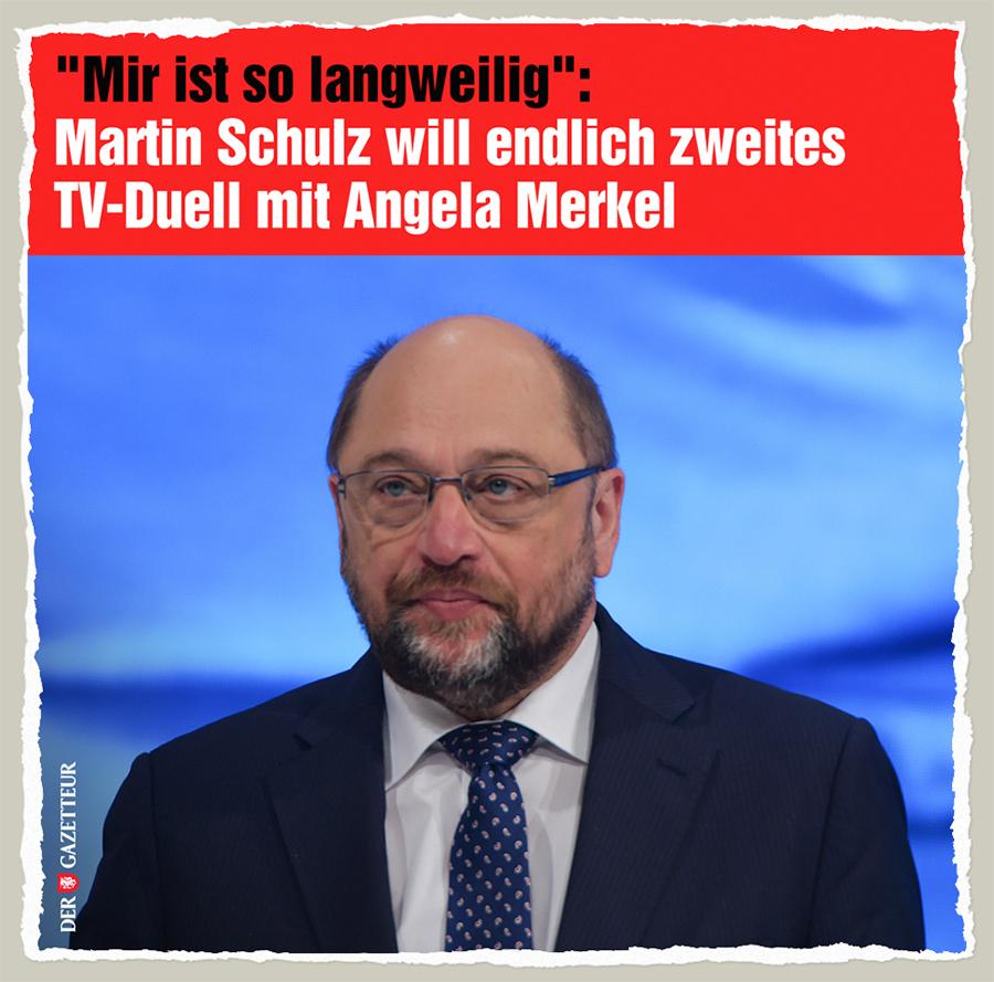 Schulz ist langweilig - Der Gazetteur
