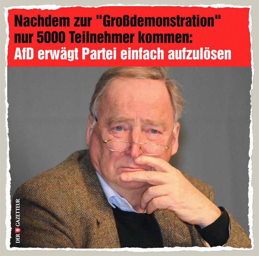 AfD-Aufloesung - Der Gazetteur