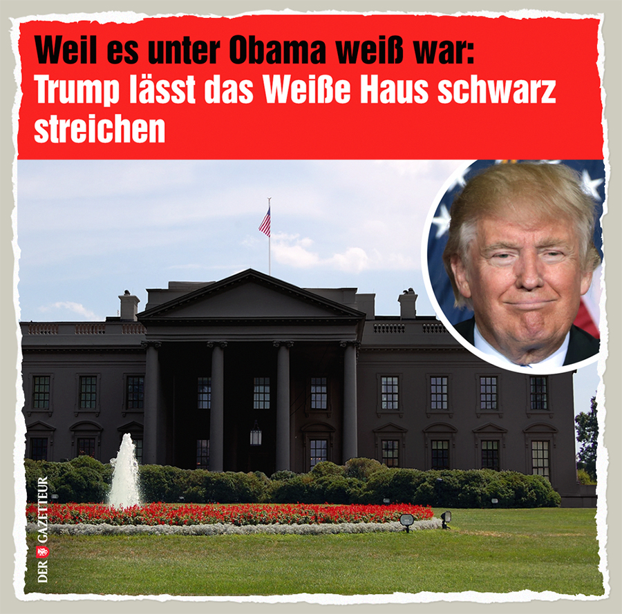 Black White House - Der Gazetteur