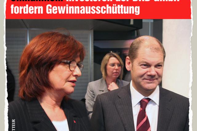 Gewinn bei der BRD GmbH - Der Gazetteur
