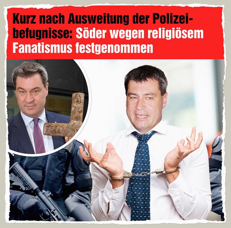 Drohender Soeder - Der Gazetteur
