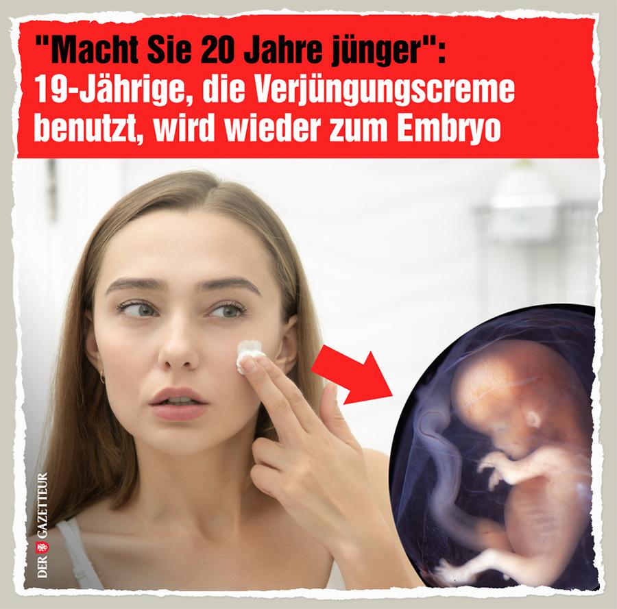 Embryo-Creme - Der Gazetteur