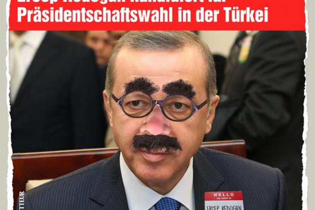 Ercep Redogan (nicht Erdogan) - Der Gazetteur