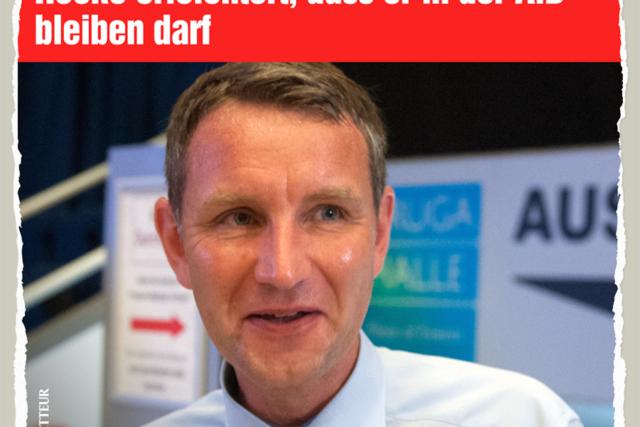 Hoecke bleibt - Der Gazetteur