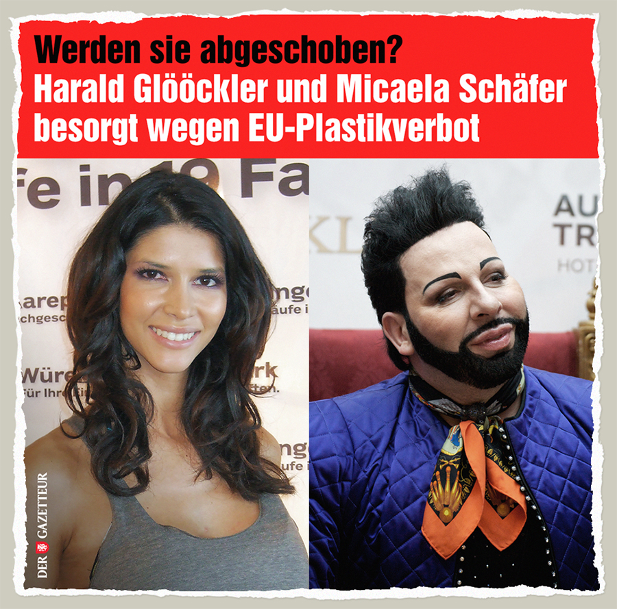 Sorge wegen Plastikverbot - Der Gazetteur