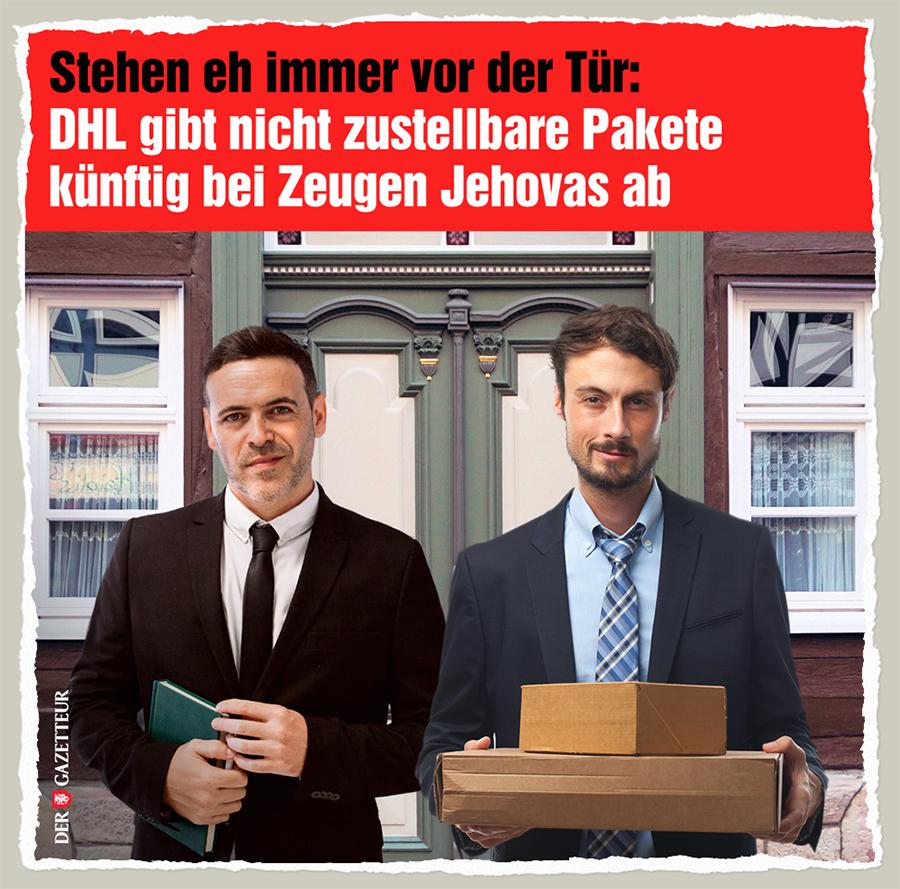 Die Zeugen DHLs - Der Gazetteur