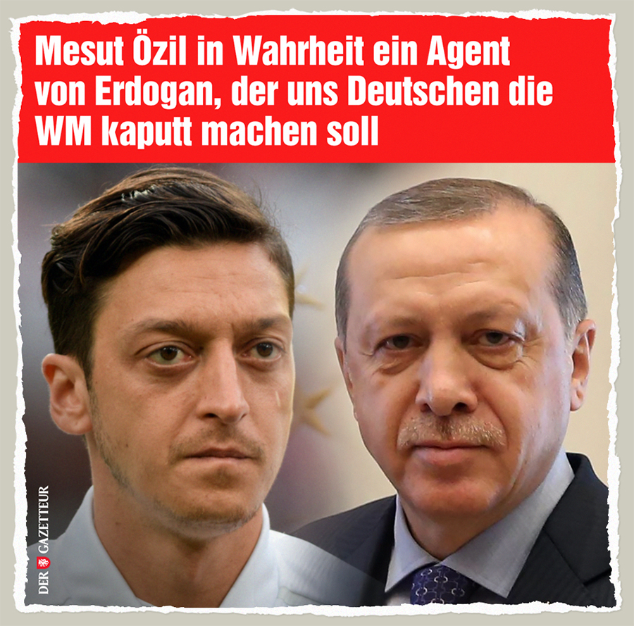 Agent Oezil - Der Gazetteur