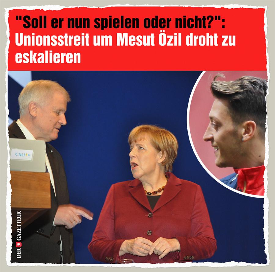 Oezil-Streit - Der Gazetteur
