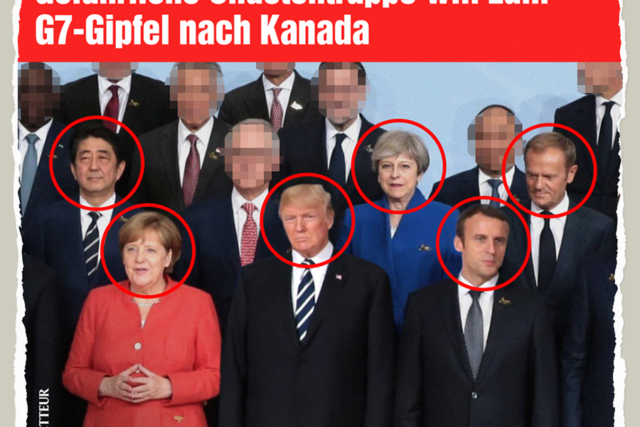 G7-Chaoten in Kanada - Der Gazetteur