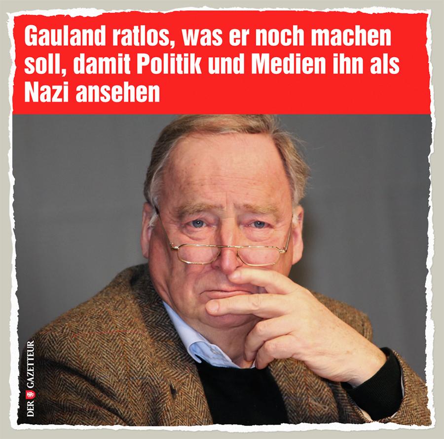 Gauland ratlos - Der Gazetteur