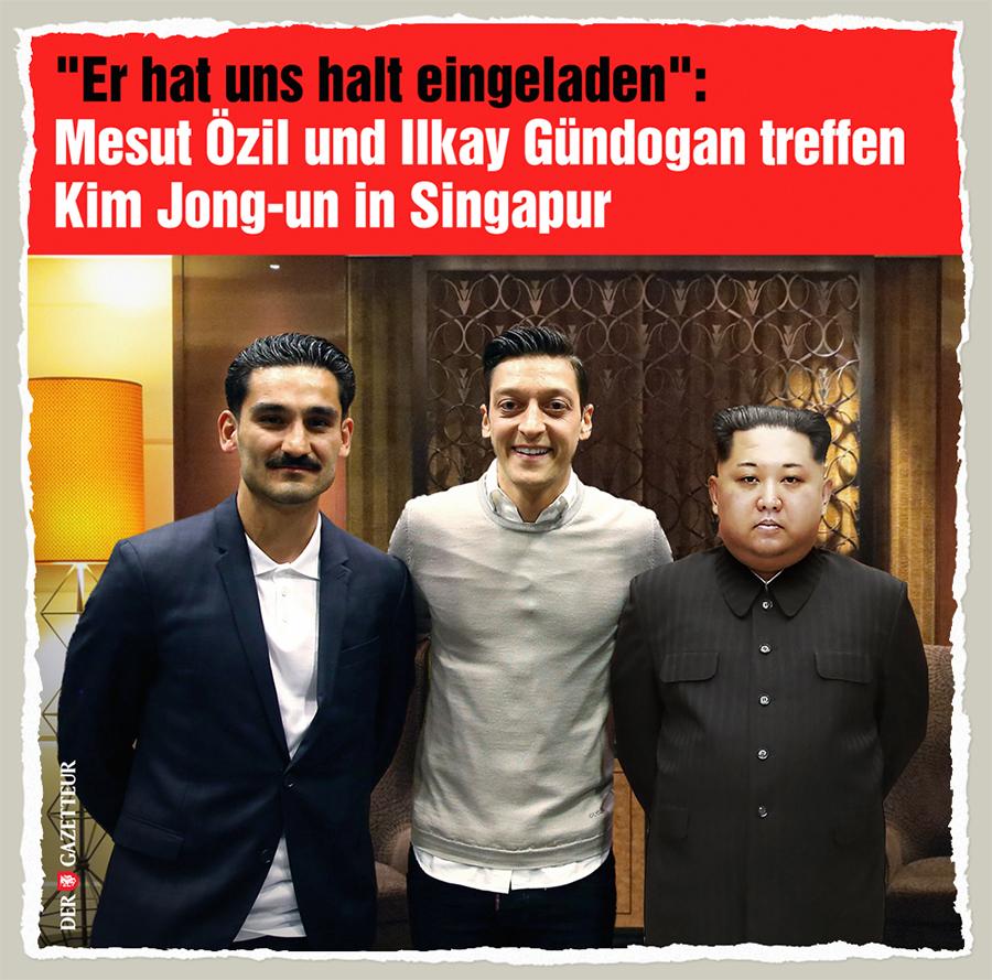 Kims Einladung - Der Gazetteur