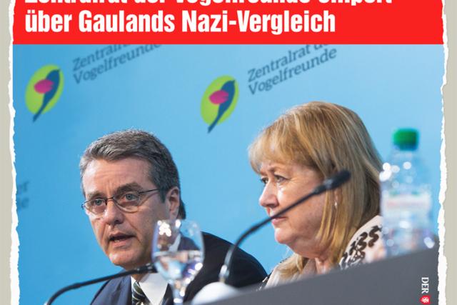Vogelbeleidigung - Der Gazetteur